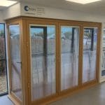 Origin Corner Bifold Door