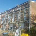 Upvc Fascias soffits guttering fitted to a town house in hemel hempstead