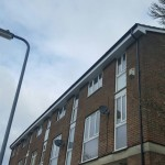 Upvc Fascias soffits guttering fitted to a town house in hemel hempstead