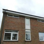 Upvc Fascias soffits guttering fitted to a town house in hemel hempstead 2