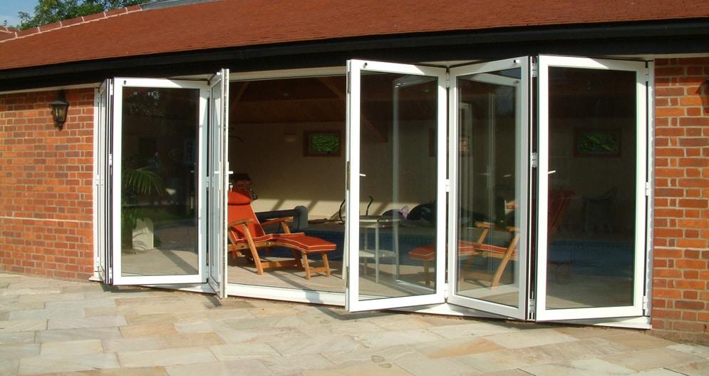 Smart Aluminium Bi Fold Doors TWS Plastics & Smart Bi Folding Door System Photo Album - Woonv.com - Handle idea
